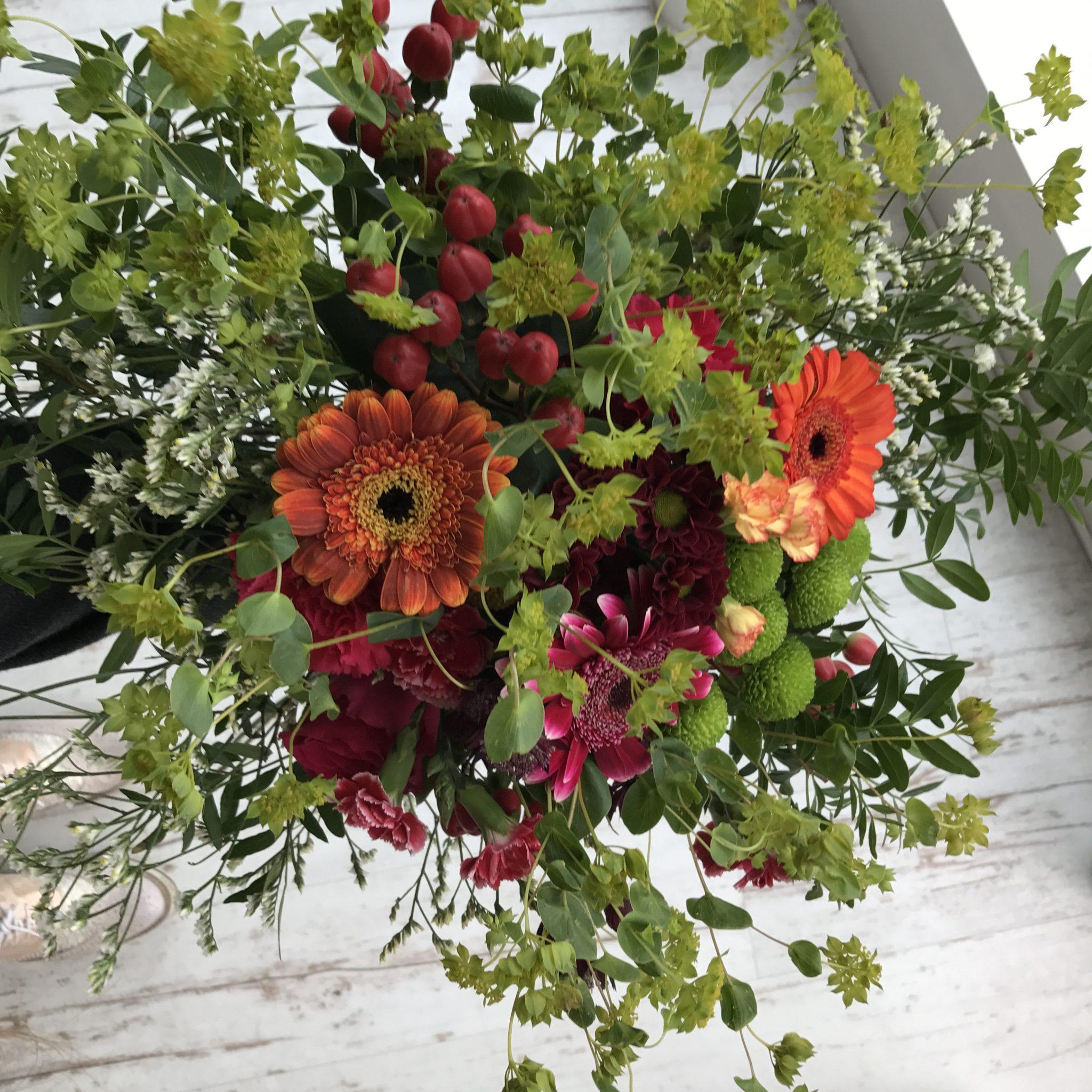 Modebloggerin-Deutschland-Hamburg-Instagrammer-Blumenstrauss-Herbst