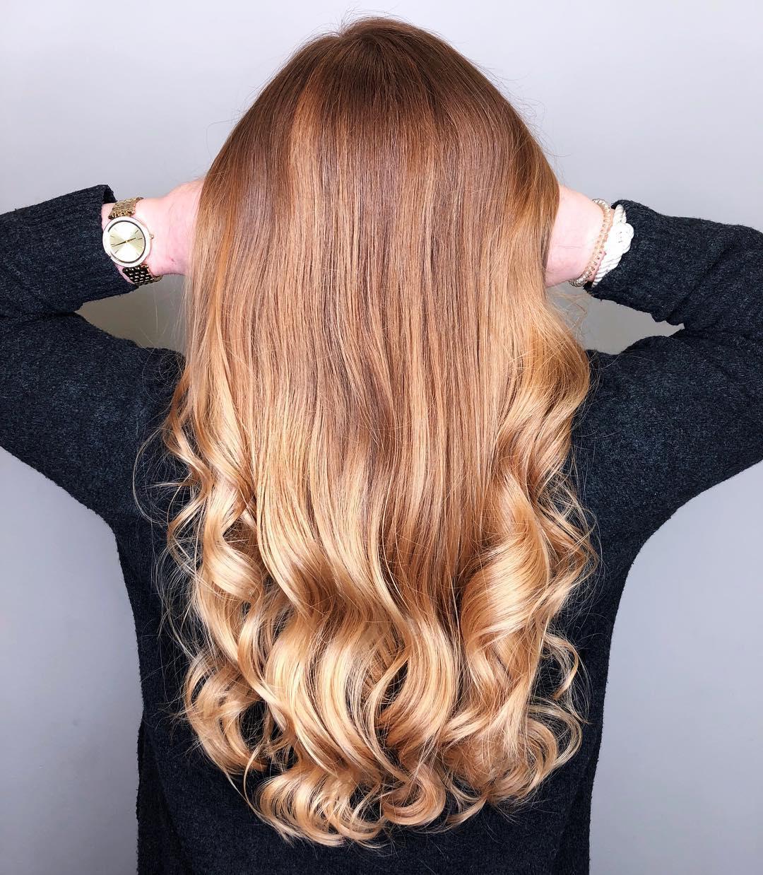 balayage-rot-blond-kupferbraun